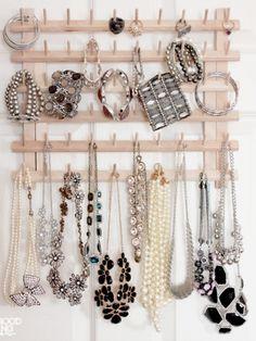 11 Stylish Jewelry Organizers You Can DIY