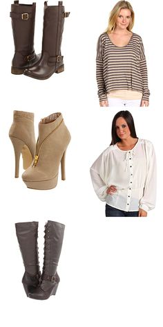 MIA, Free People, C Label, Brigitte Bailey, Bare Traps at 6pm. Free shipping, got my fall clothes fix!