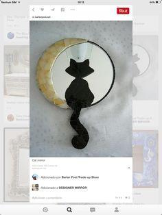 Espelho de gato