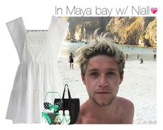 """""""In Maya bay w/ Niall"""" by talitastyles ❤ liked on Polyvore featuring Chicwish, Monki, Sun Bum and Havaianas"""
