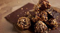 Recettes - Signé M - TVA - Truffes chocolat caramel salé