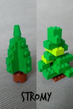 Naučte sa z Lega postaviť ihličnaté stromy.