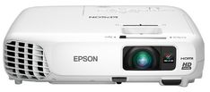 Epson Home Cinema 730HD, HDMI, 3LCD, 3000 Lumens Color and White Brightness, Home Entertainment Projector (Certified Refurbished)