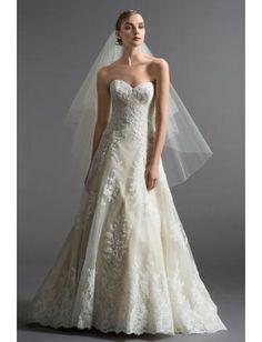 Robe de mariée pas cher tulle évasée sans manches zip