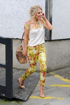 Mollie King - The Saturdays Leave the ITV Studios — Part 2