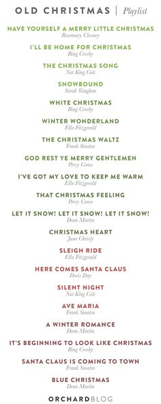 Our Old Fashion Jazzy Christmas Playlist