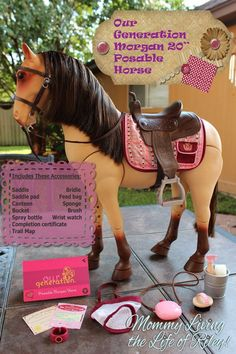 If your little girls loves #horses, she'll flip for this!  #toys #girls  www.mommylivingthelifeofriley.com