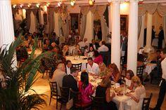 Soirée au restaurant spectacle St Petersbourg à Mougins. Nos convives ont profités d'un buffet dînatoire à l'occasion de notre ouverture le 07 septembre 2013.
