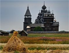 Russia- love how rustic this looks.