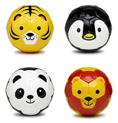 Adorable Soccer Balls -- might need to get one for our favorite babysitter!