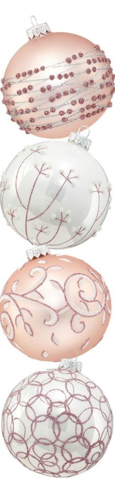 Sugar Plum Christmas / karen cox. Andrey Filatov Assorted Glass Ornaments