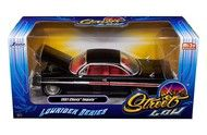 1961 Chevrolet Impala Black Lowrider Series 1/24 Diecast Car Model By Jada 98928