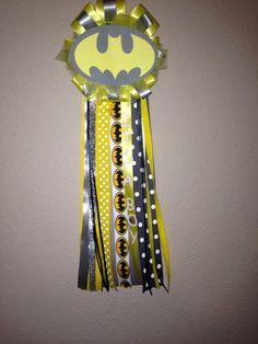 Batman Baby Shower Corsage By HeartofANGUIANO On Etsy, $19.99