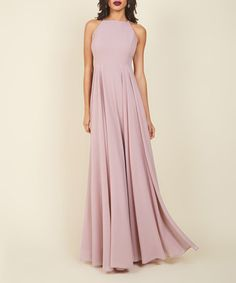 Another great find on #zulily! Lilac Stun Like No Other Maxi Dress #zulilyfinds