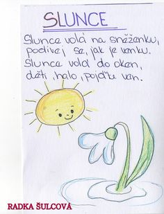 sněženka Spring Activities, Activities For Kids, Montessori, Preschool, Classroom, Education, Learning, Handmade, Class Room
