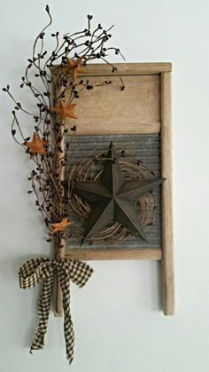 Check out this item in my Etsy shop https://www.etsy.com/listing/265668574/vintage-washboard-decor-primitive-decor