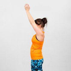 Liikunnanohjaaja Soile Wirtasen helpoilla perusliikkeillä treenaat vahvat käsivarret.