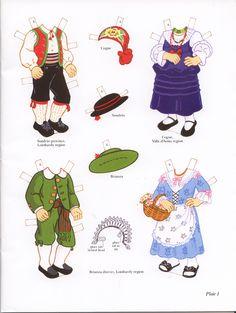 Italian Girl and Boy Paper Dolls (Sofi & Ernesta) / Kathy Allert, Dover (1 of 11)