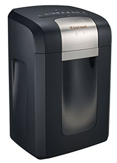 Bonsaii 3S23 14Sheet CrossCut Shredder 6 Gallons Wastebasket with 4 Casters and 120 Minutes Running Time >>> Click on the image for additional details. (This is an affiliate link and I receive a commission for the sales) #PaperShreddersForOffices