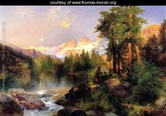 The Three Tetons - Thomas Moran - www.thomas-moran.org