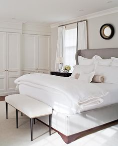 Bedroom Bliss. Interior Design: McGill Design Group Inc. – Toronto | Modern simplicity firmly grounded in the classics.