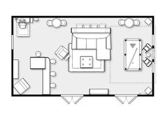 Floor Plan For The Game Room Game Room Floor Plans Room