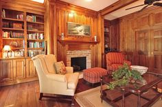 Millwork Southern Living Rooms, Trim Work, Kitchen Cabinetry, Low Country, Custom Cabinetry, Built Ins, Cottage, Traditional, Home