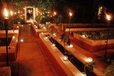 Entrance to the secret garden - Hacienda Dzibikak