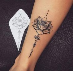 tattoos for women small ribs & tattoos for women small . tattoos for women small meaningful . tattoos for women small unique . tattoos for women small ribs . tattoos for wo Flower Leg Tattoos, Tattoos For Women Flowers, Foot Tattoos For Women, Tattoo Flowers, Back Leg Tattoos, Calf Tattoo Women, Simple Leg Tattoos, Leg Tattoos Small, Flower Tattoo Women