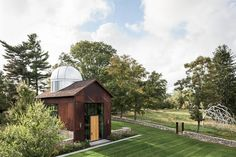 Wilton, Connecticut | glass house barn and observatory
