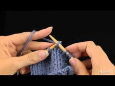 Slip 1 Knit 1 Pass Slipped Stitch Over (skp) How to Decrease: Learn how to knit the skp stitch with this free video from AnniesCatalog.com.