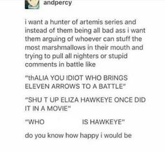 We all need this and didn't know until we read this!!!! Percabeth, Solangelo Fanart, Leo Valdez, Nico Di Angelo, Heroes Of Olympus, Apollo And Artemis, Hunter Of Artemis, Frank Zhang, Greek Mythology