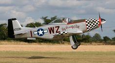 Titan Aircraft - T-51D Mustang. 3/4 scale P-51 Mustang.