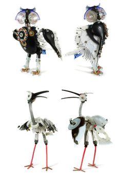 My Owl Barn: Ann P. Smith: Animal Robots #owls