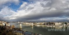Budapest Panorama - Joan Carroll  Check out this photo and more at my website at joan-carroll.artistwebsites.com.  All works available as a print, canvas, greeting card, pillow cover, tote bag, shower curtain, or phone case.  Thanks!