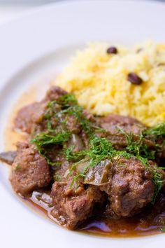 Lamb with Green Chili Masala