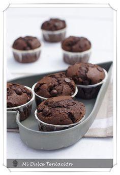 Mi dulce tentación: Muffins de Chocolate y Especias