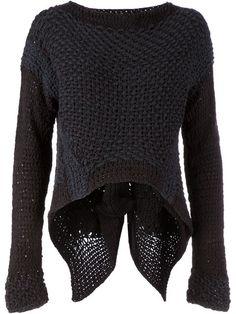 LE MOINE TRICOTE asymmetric k.n.i.t sweater
