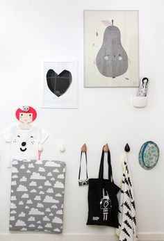Gorgeous prints and wall hooks in Sammuel and Dixie's New Bedroom. A Little Lovely Company, Cute Phrases, Handwriting Styles, Diy Letters, Diy Garland, Happy Birthday Banners, Kids Corner, Baby Decor, A Boutique