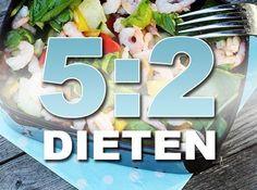 Gå ner i vikt med 5:2 dieten! 5:2, eller periodisk fasta är numer vida känt som ett sätt att minska i vikt. Här hittar du information om 5-2, och recept!