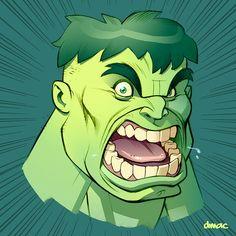 Hulk 2 by D-MAC on @DeviantArt