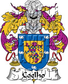 Coelho Family Crest apparel, Coelho Coat of Arms gifts