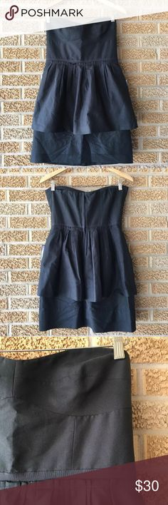 🆕 J crew size 8 strapless sweetheart black dress Adorable dress. Bundle and offers welcome. J. Crew Dresses Mini