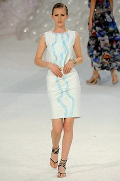 A look from the Chanel Spring 2012 RTW collection.