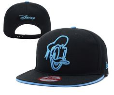 DISNEY New Era 9FIFTY SNAPBACKS HATS Black