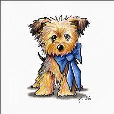 """Little Boy Blue"" by Kim Niles Cute Animal Drawings, Cartoon Drawings, Art Drawings, Stone Painting, Painting & Drawing, Poster Prints, Art Prints, Framed Prints, Canvas Prints"