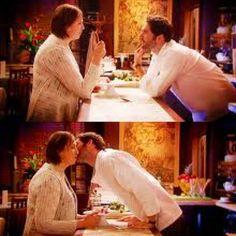 best kiss, love Miranda Hart and Tom Ellis Miranda Tv Show, Miranda Bbc, Miranda Hart, Tom Ellis Lucifer, Carol Burnett, Dan Stevens, Best Kisses, British Comedy, Comedy Tv