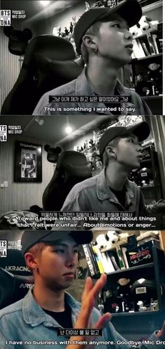 Namjoon talking to the haters on Mic Drop.HE'S so cool bruh Namjoon, Rapmon, Bts Lyrics Quotes, Why I Love Him, Mic Drop, Army Love, About Bts, Bts Group, Rap Monster