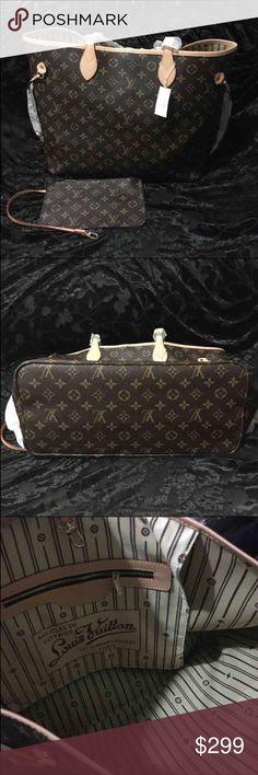 Louis Vuitton neverfull GM brand new Louis Vuitton never full GM it's not authentic brand new Louis Vuitton Bags Shoulder Bags