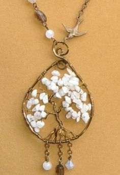After the snow tree of life pendant